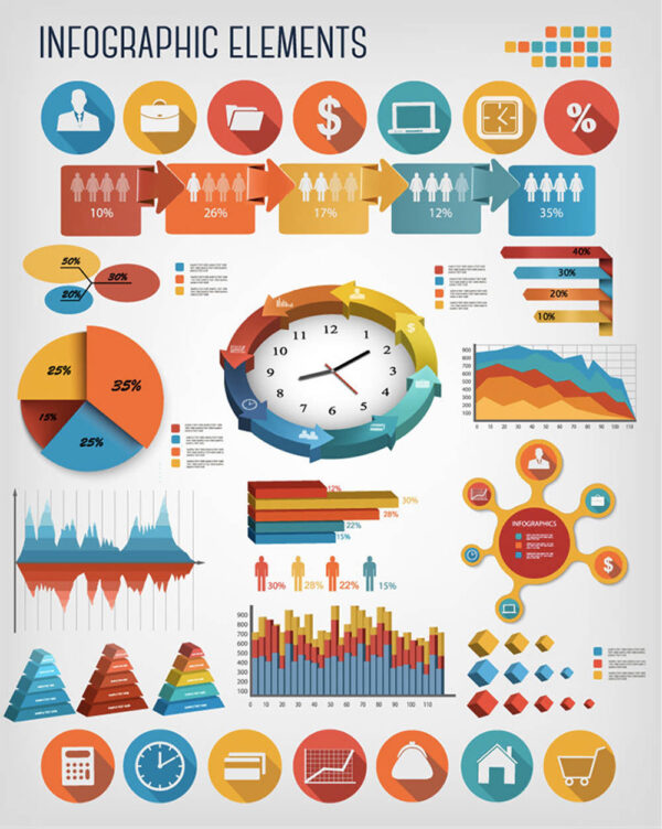 infographic business elements